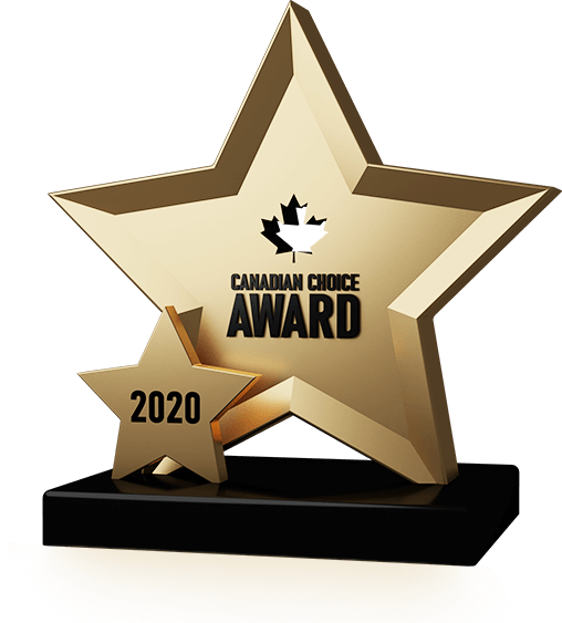 Canadian Choice Award Trophy